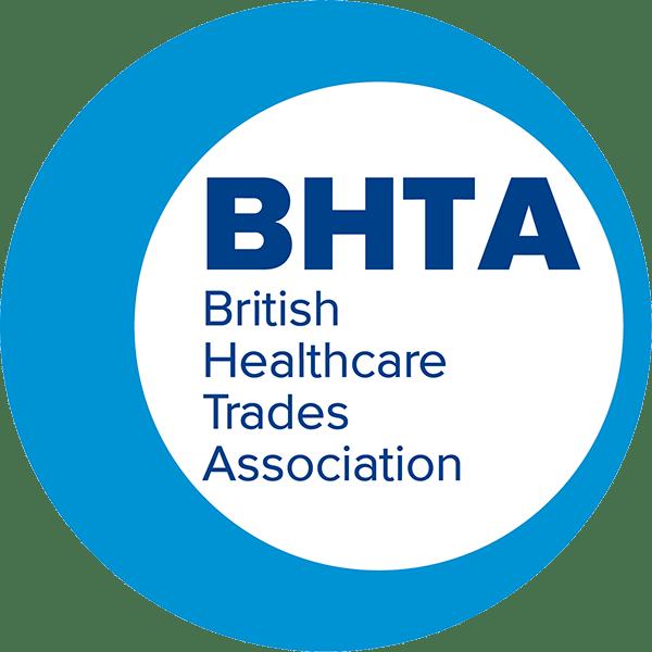 British healthcare trades association logo no background
