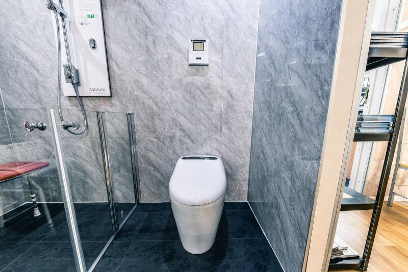 new fitted accessible bathroom fitting