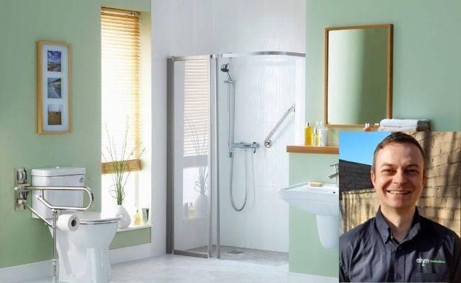 accessible bathroom set and instalment