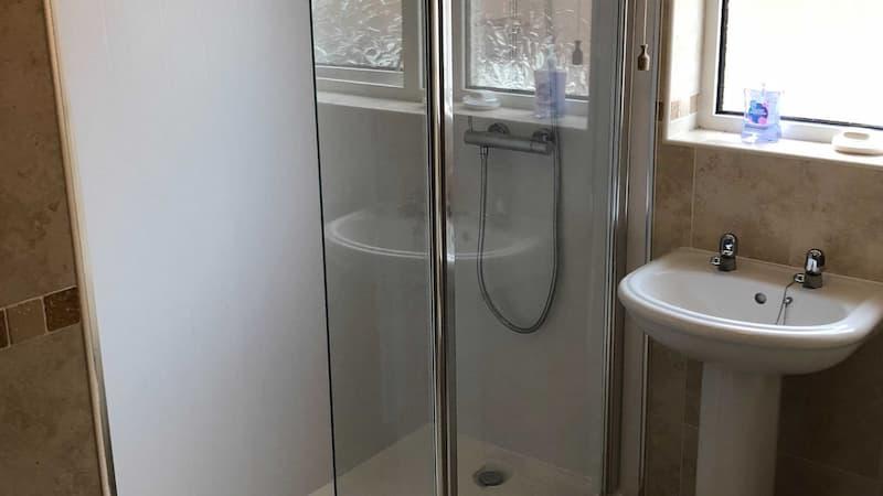 Milsom shower-before installation