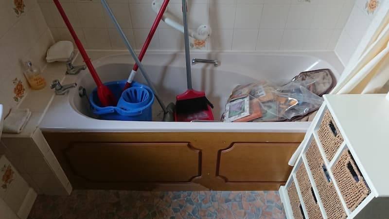 Beasley shower instalment before